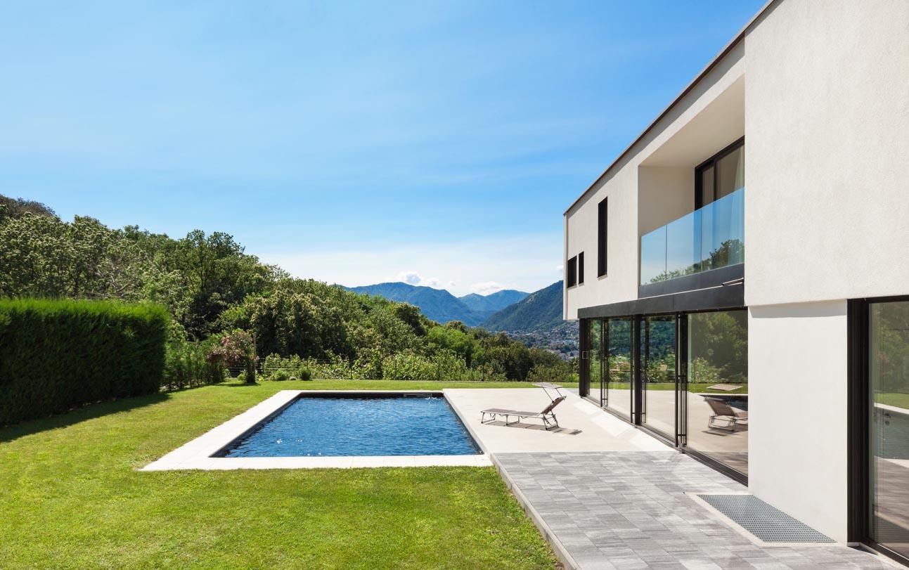 illa moderne avec piscine