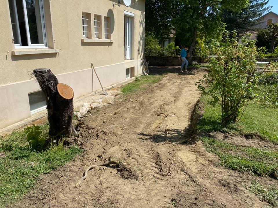 etape construction terasse en bois 4